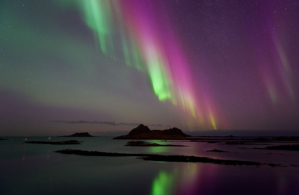 Aurora over Northern Norway, Jan. 22, 2012