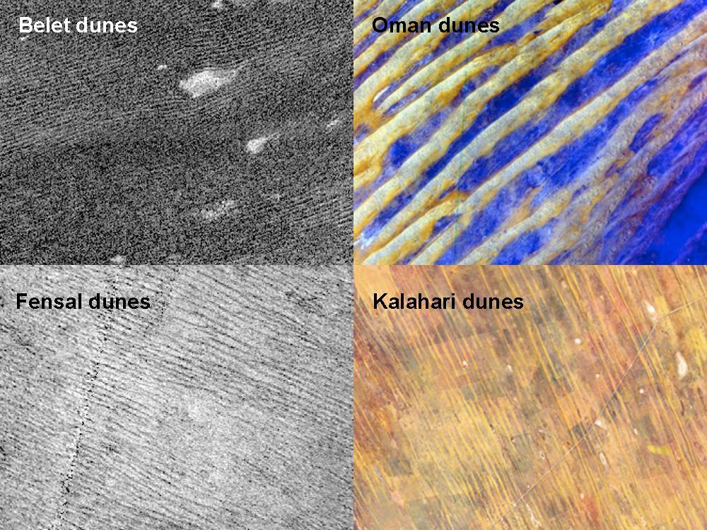 Titan Sand Dunes Reveal Clues of Saturn Moon's Past