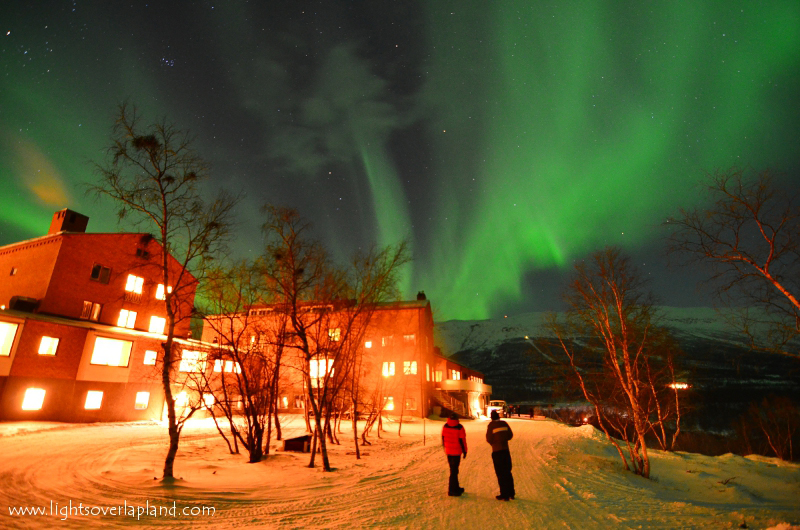 Aurora over  Abisko National Park, Sweden