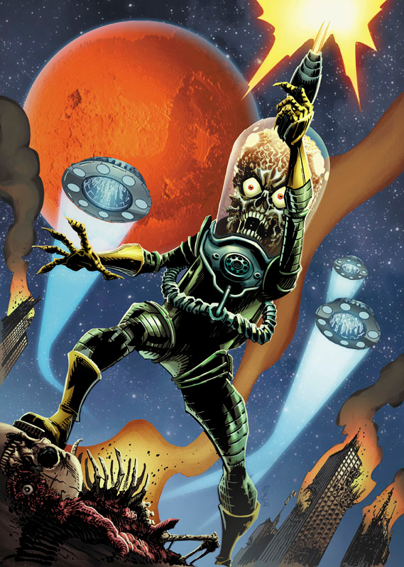 'Mars Attacks' Invades Comics for 50th Anniversary