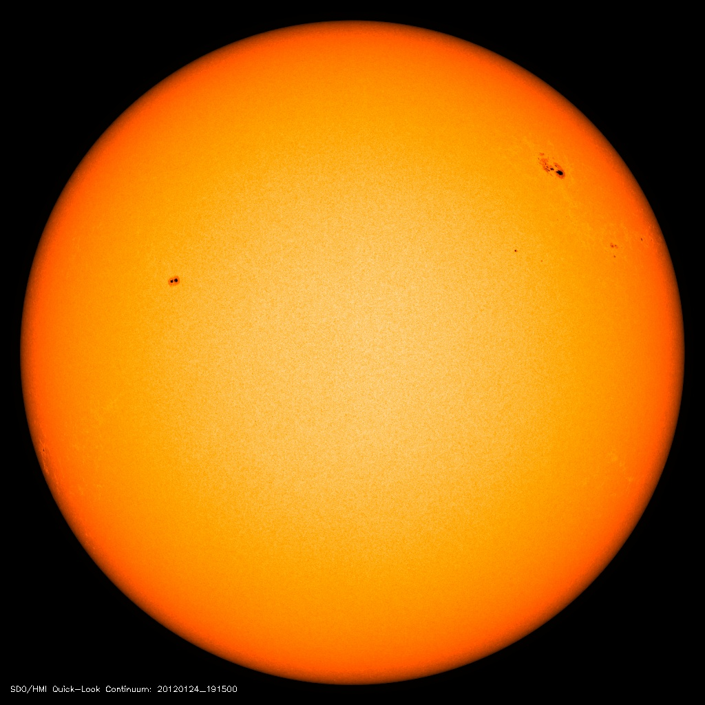 Spots on the Sun Firing Off Strong Solar Storms