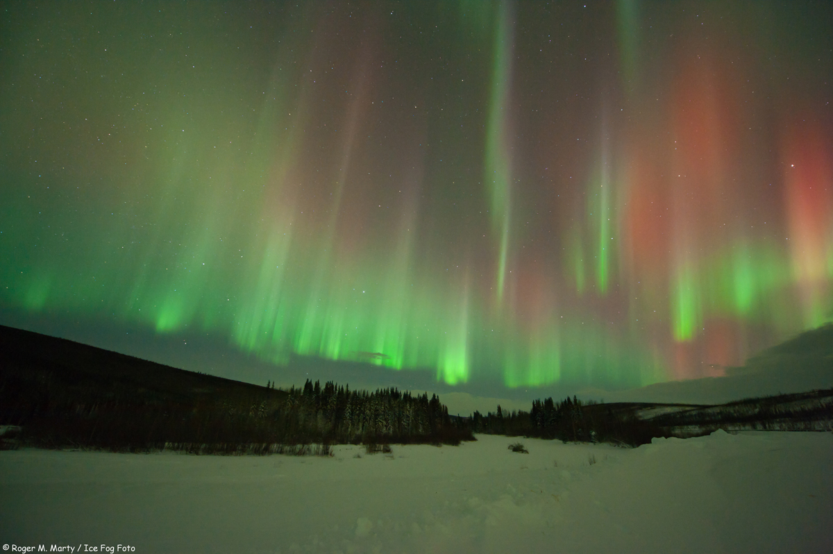 Aurora North of Poker Flats, Alaska #4