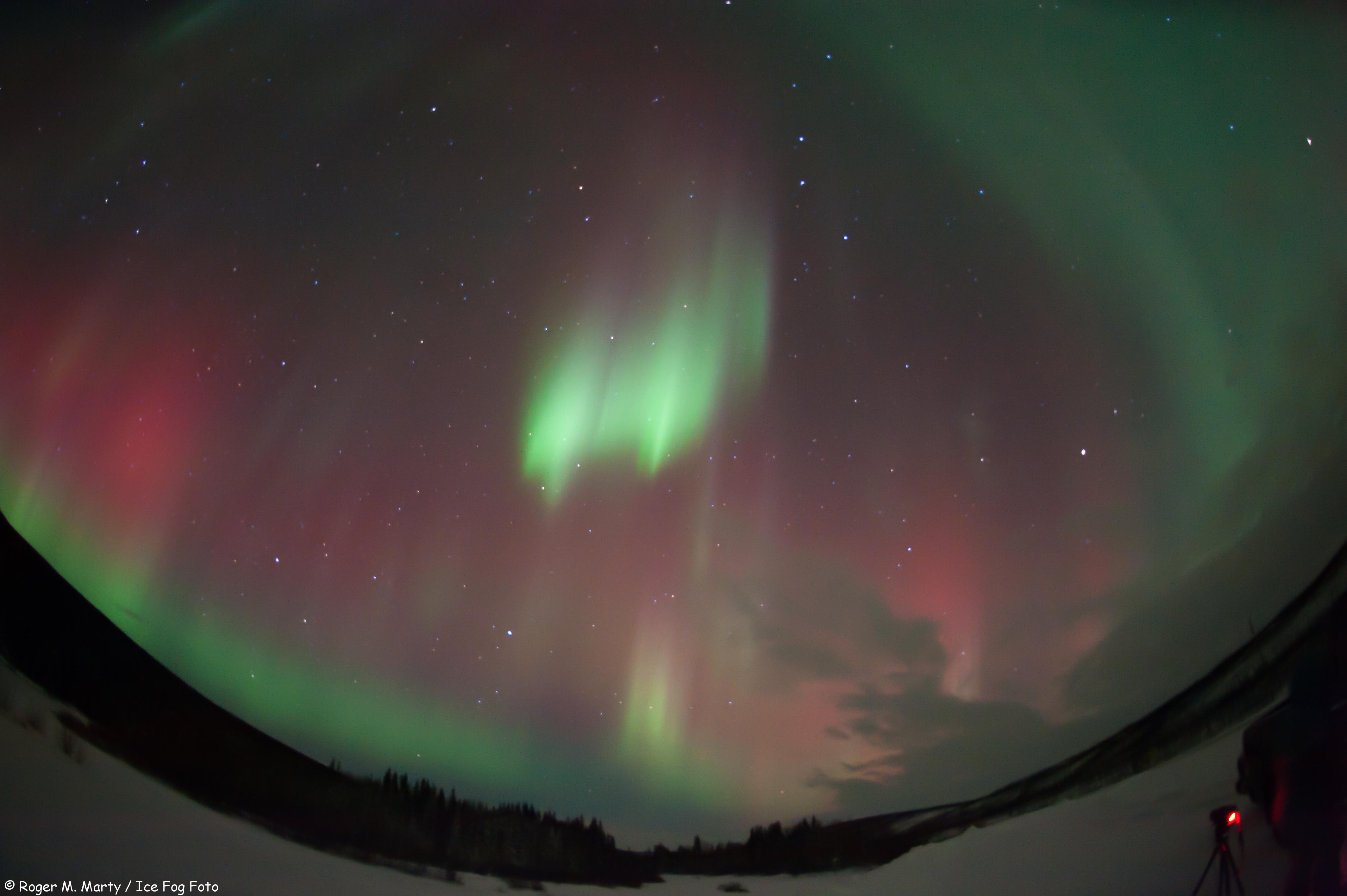 Aurora North of Poker Flats, Alaska #7