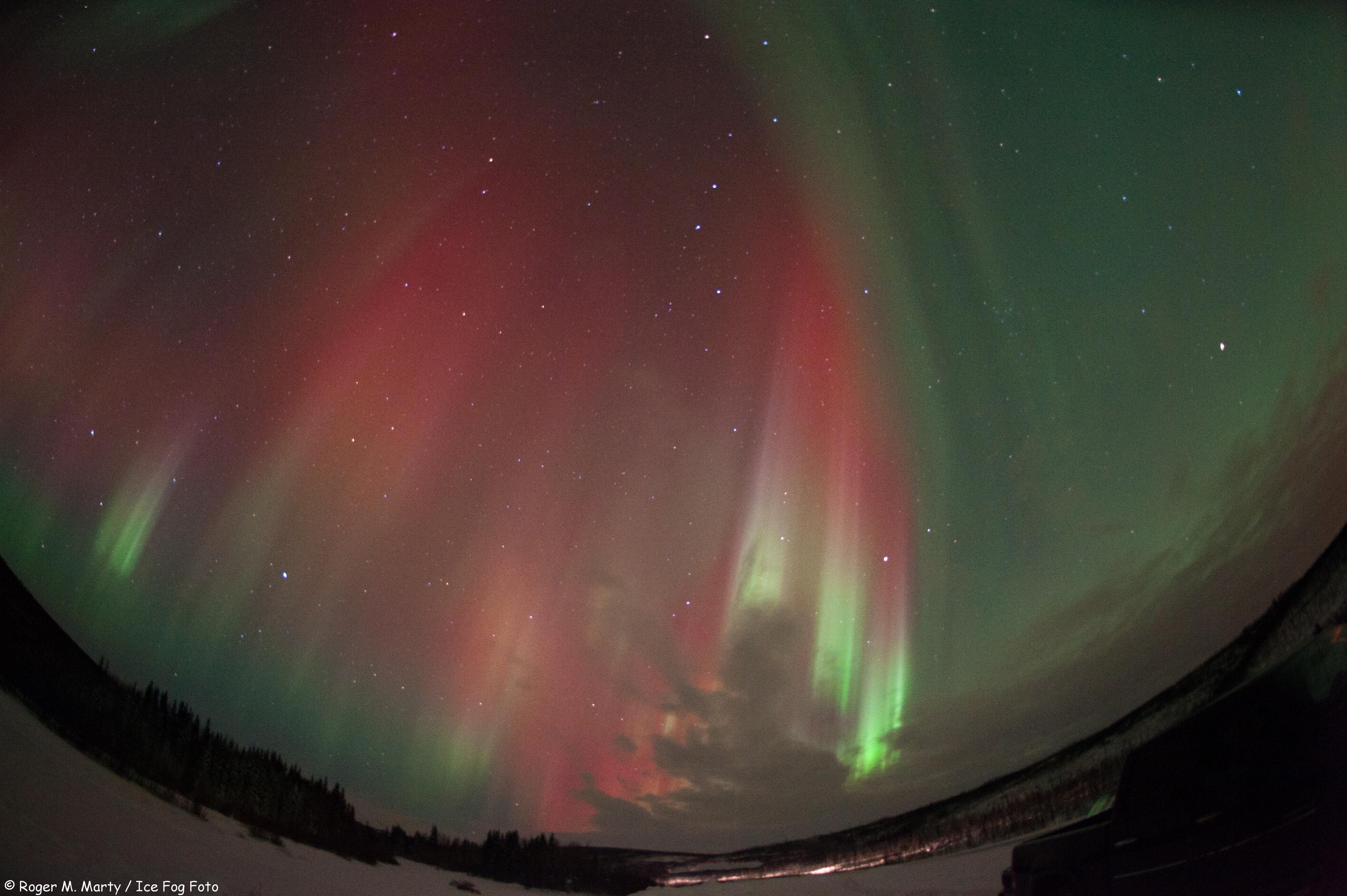 Auroral Glow Over Alaska, #6