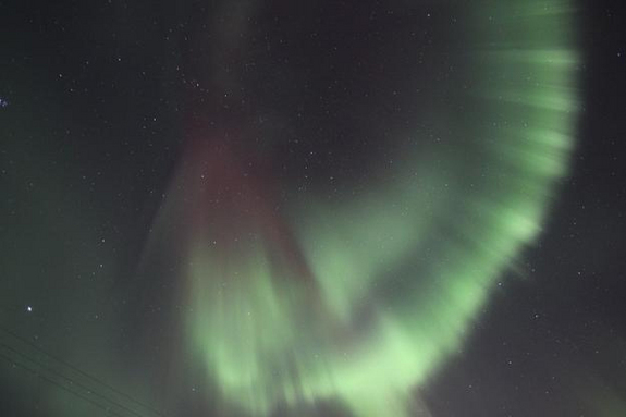 Astrophotographer Jens Buchmann took this aurora picture Jan. 24, 2012, near Kiruna, Sweden.