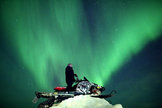 Astrophotographer Antti Pietikäinen took this aurora photo on Jan. 24, 2012 in Muonio, Lapland, Finland.