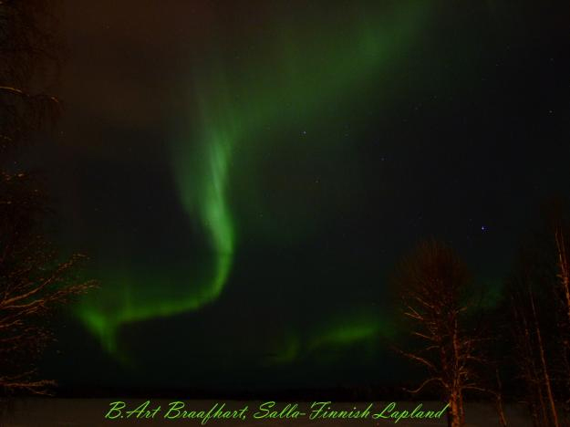 Aurora over Salla, Finnish-Lapland