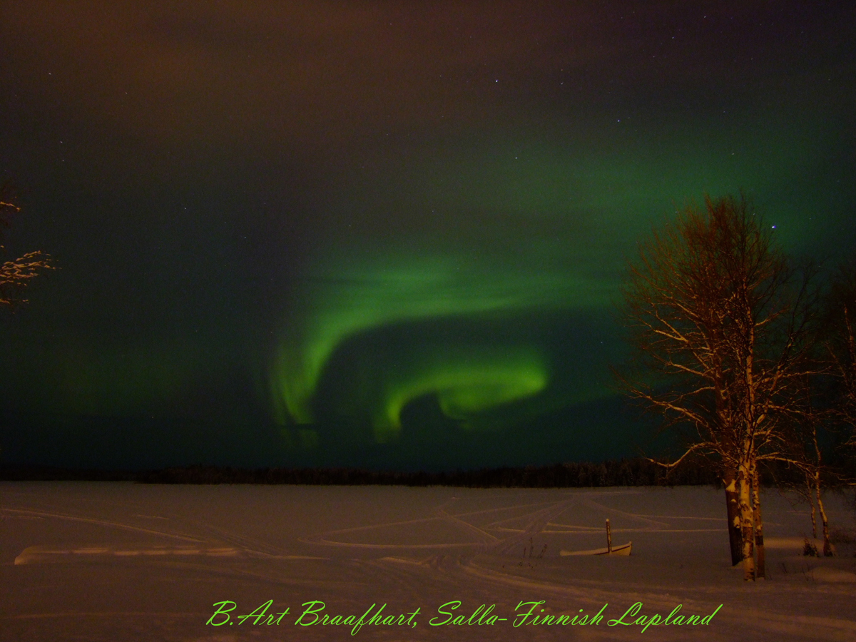 Aurora over Salla, Finnish-Lapland #2