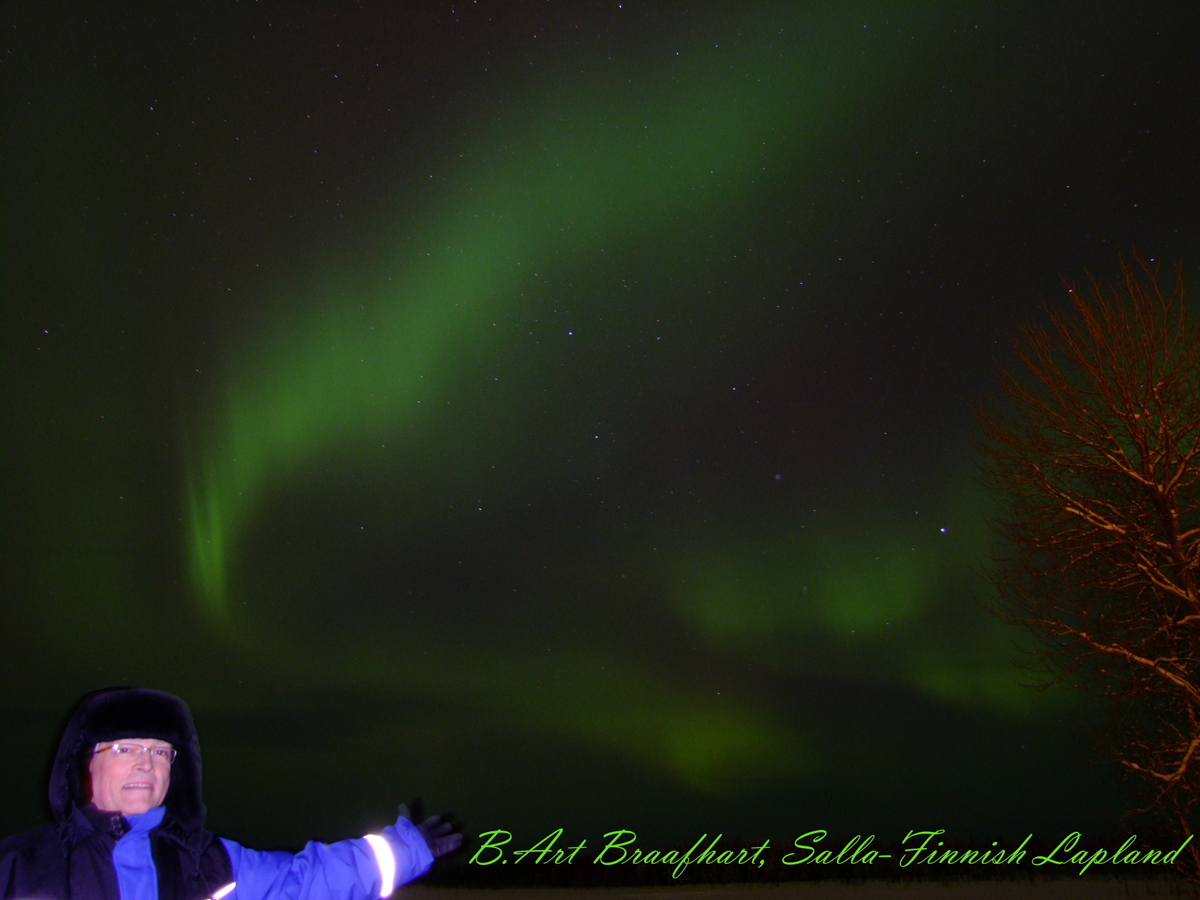 Aurora over Salla, Finnish-Lapland #3