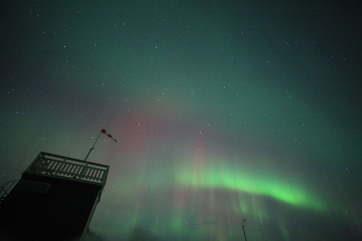 Aurora Image from Aurora Sky Station in Abisko, Sweden