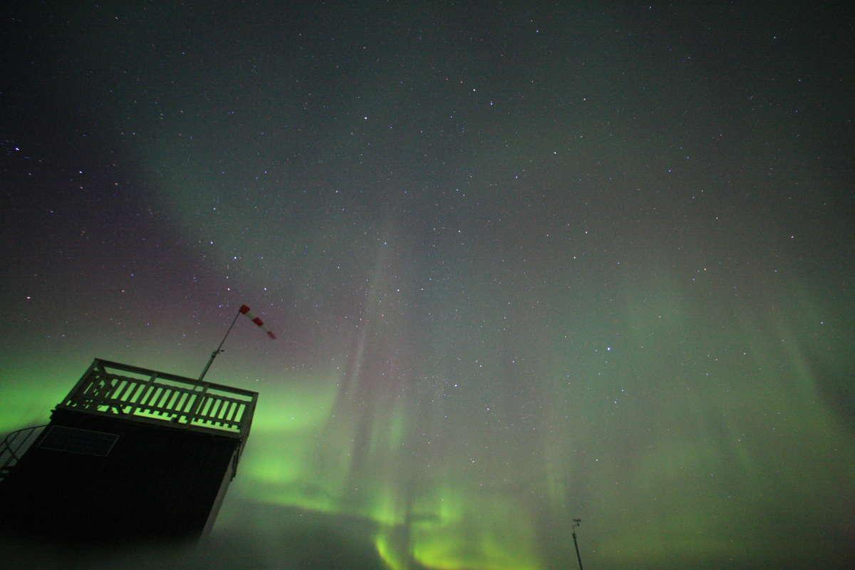 Aurora Image from Aurora Sky Station in Abisko, Sweden #2