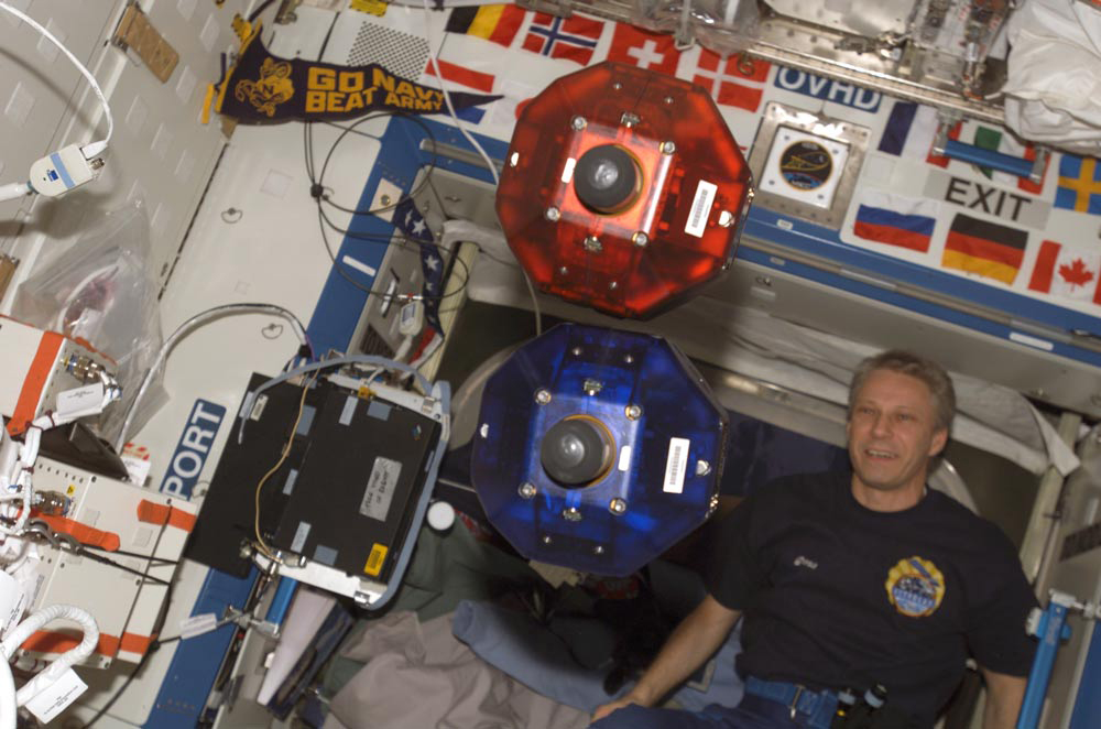 Contest Challenges Students to Control Space Station Robots