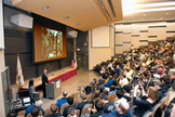 Students from 38 schools across the country gathered at MIT for the 2011 Zero Robotics challenge.