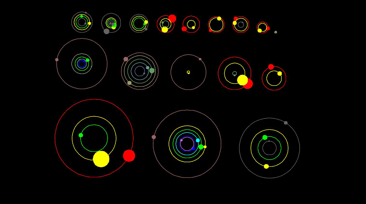 NASA Telescope Discovers 26 Alien Planets Around 11 Different Stars