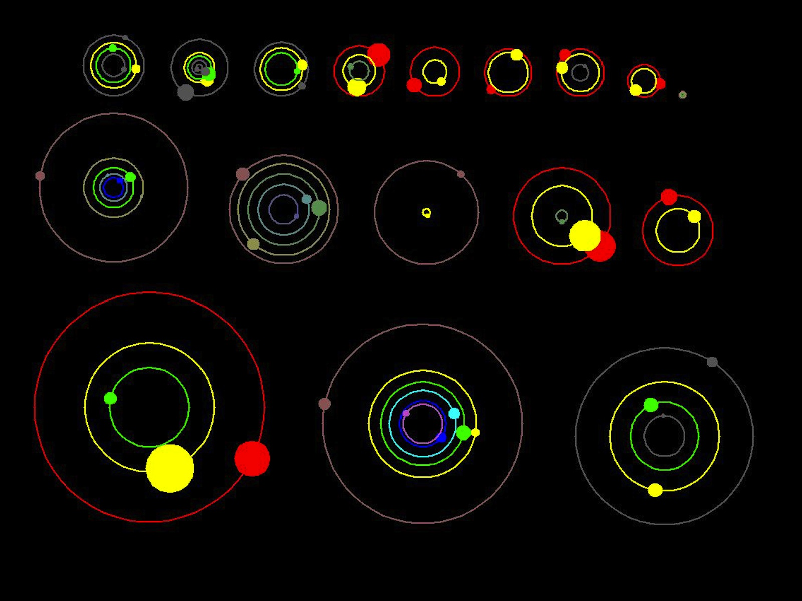NASA 26 Planets Around 11 Different Stars
