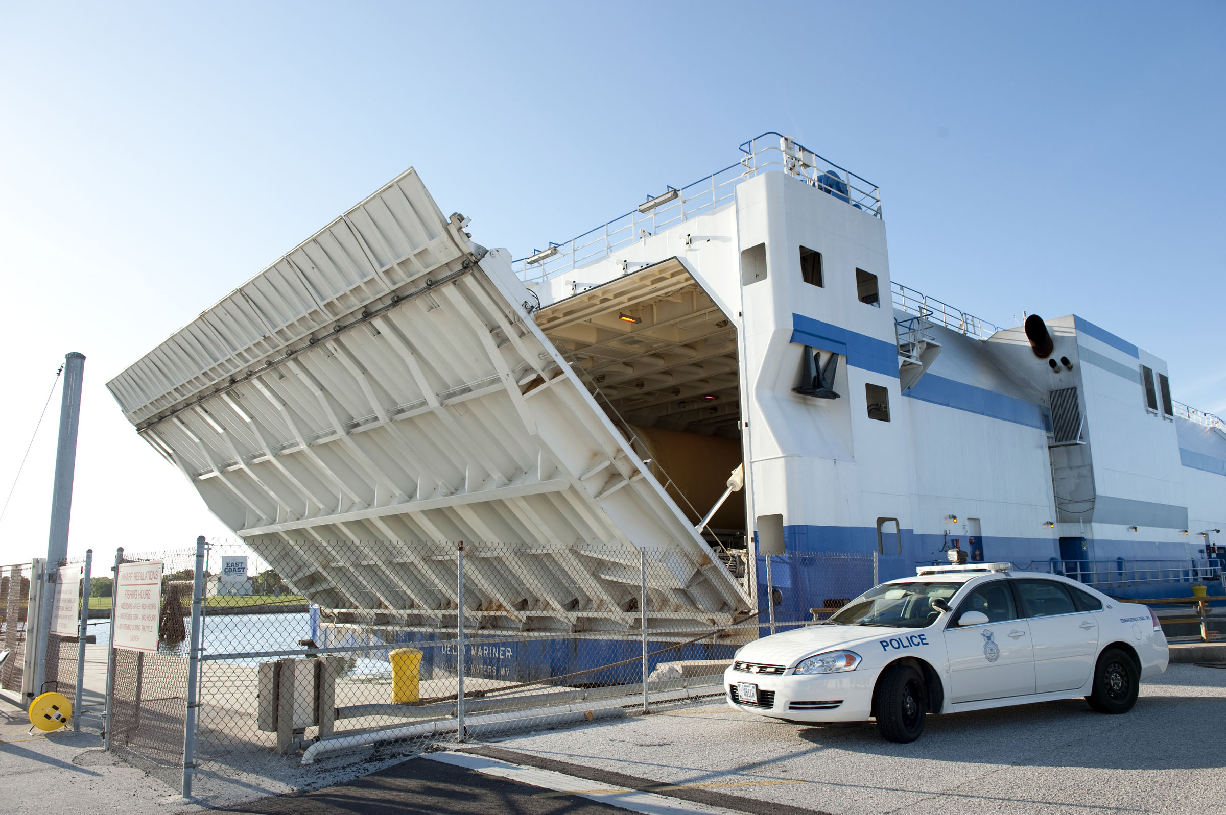 Boat Carrying Atlas Rocket Crashes Into Bridge