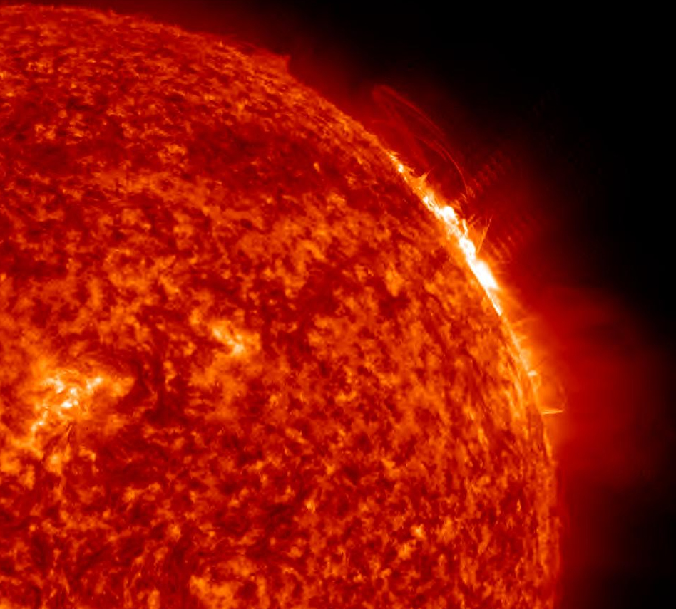 Sun Unleashes Strongest Flare Yet of 2012