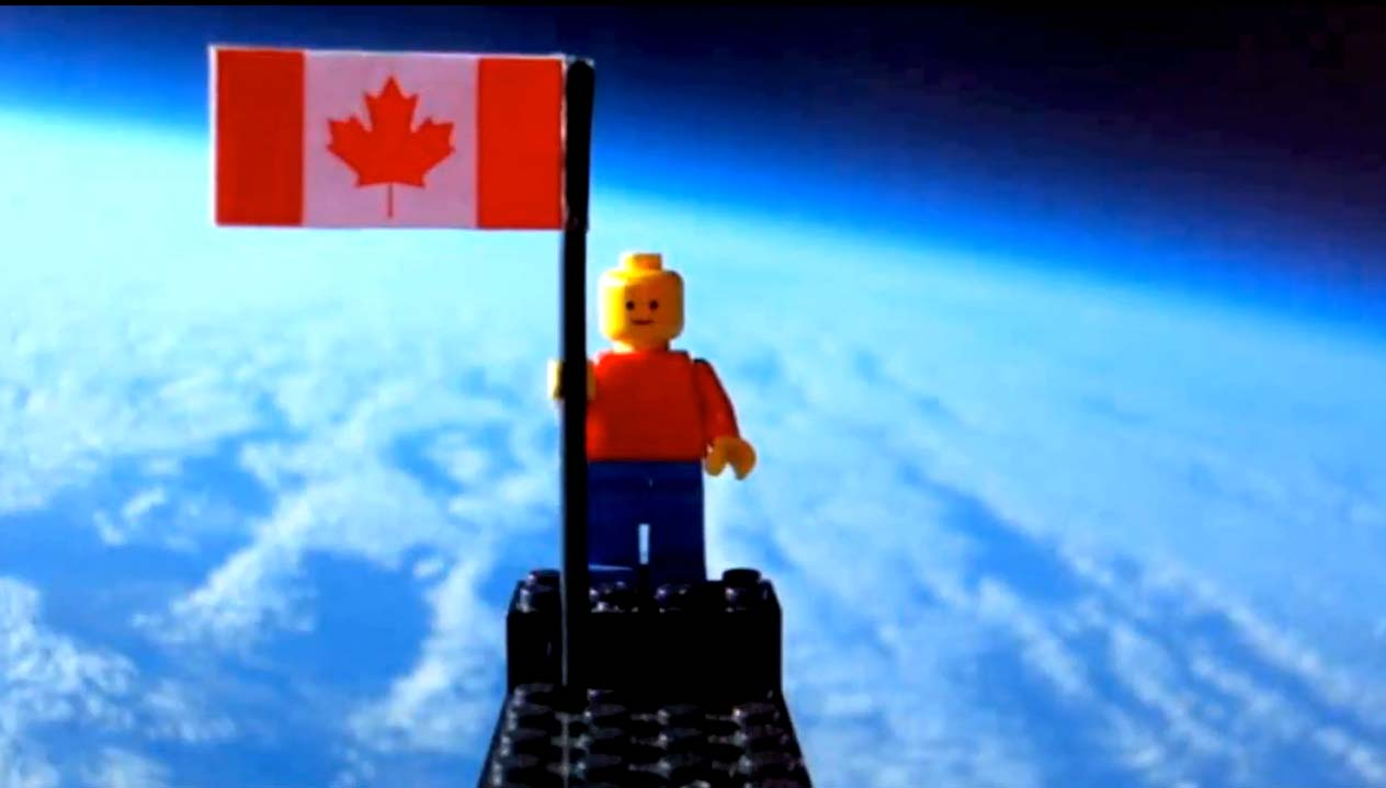Teens Send Lego Man to 'Space'