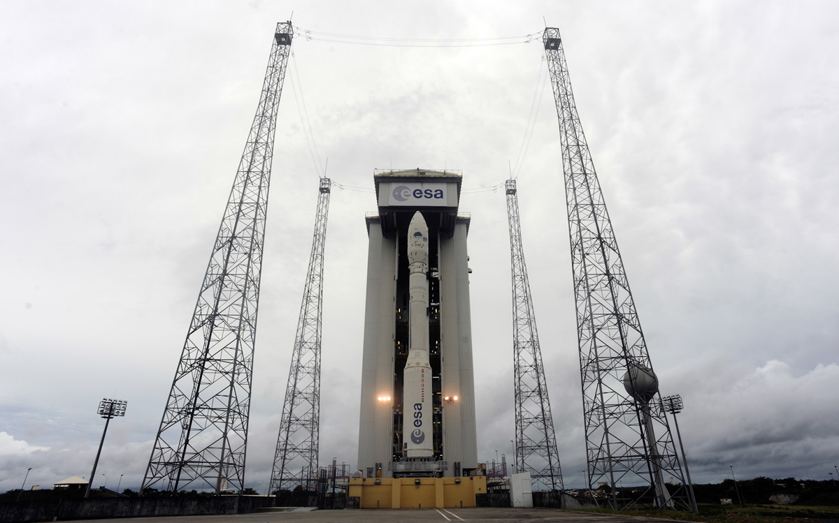 Europe's Newest Rocket to Launch on Maiden Voyage Monday