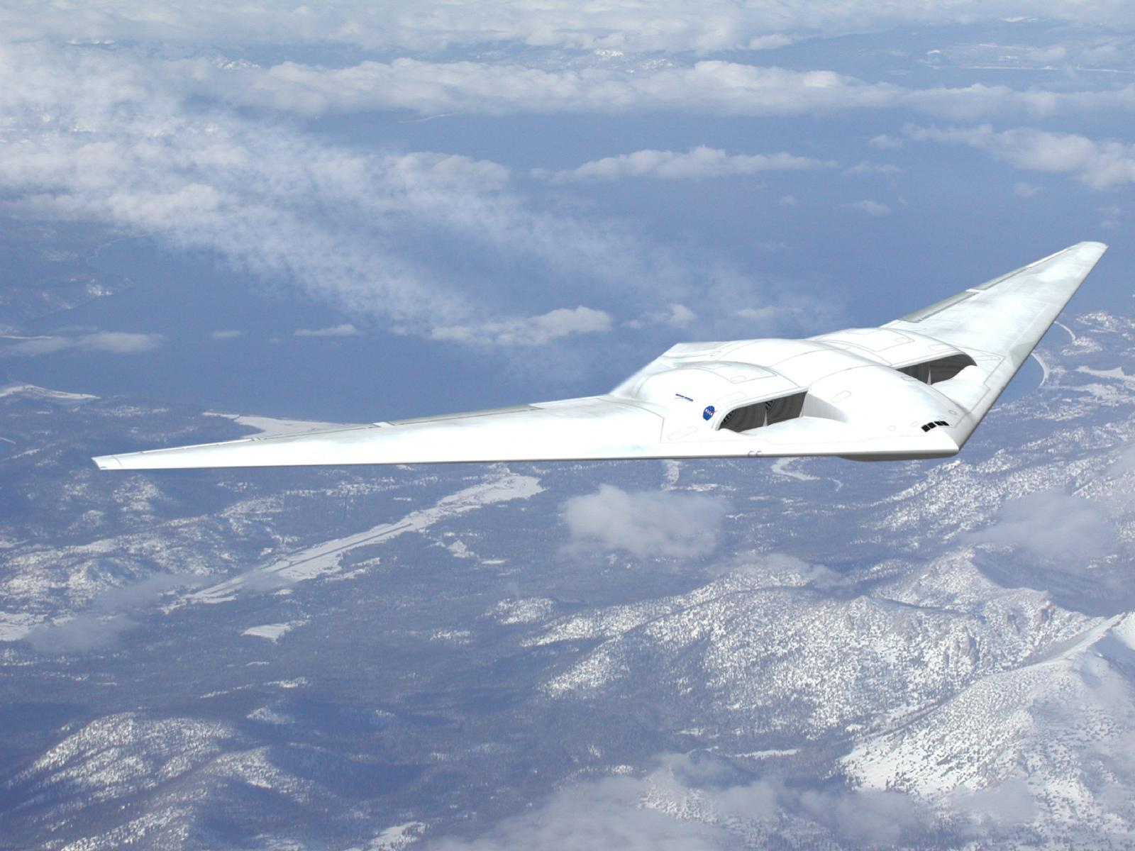 Flying Wing Goes Commercial