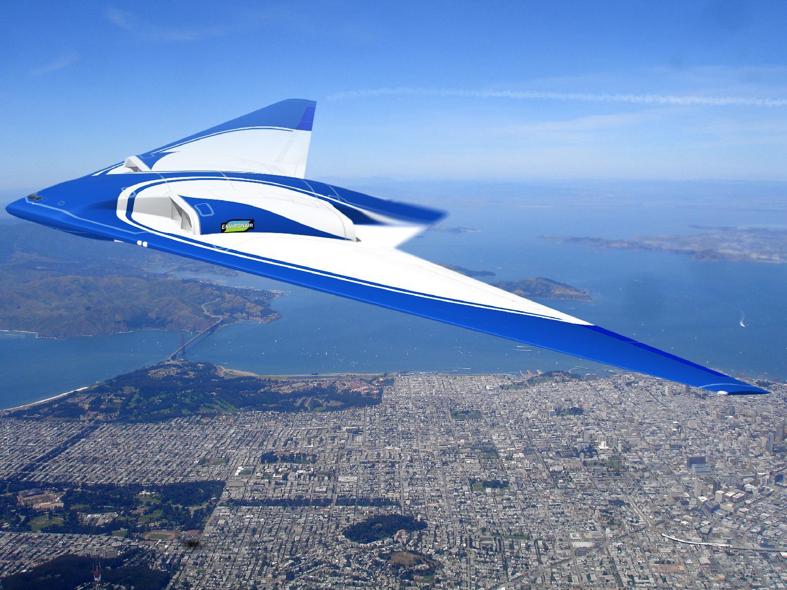 Northrop Grumman' Possible Flying Wing