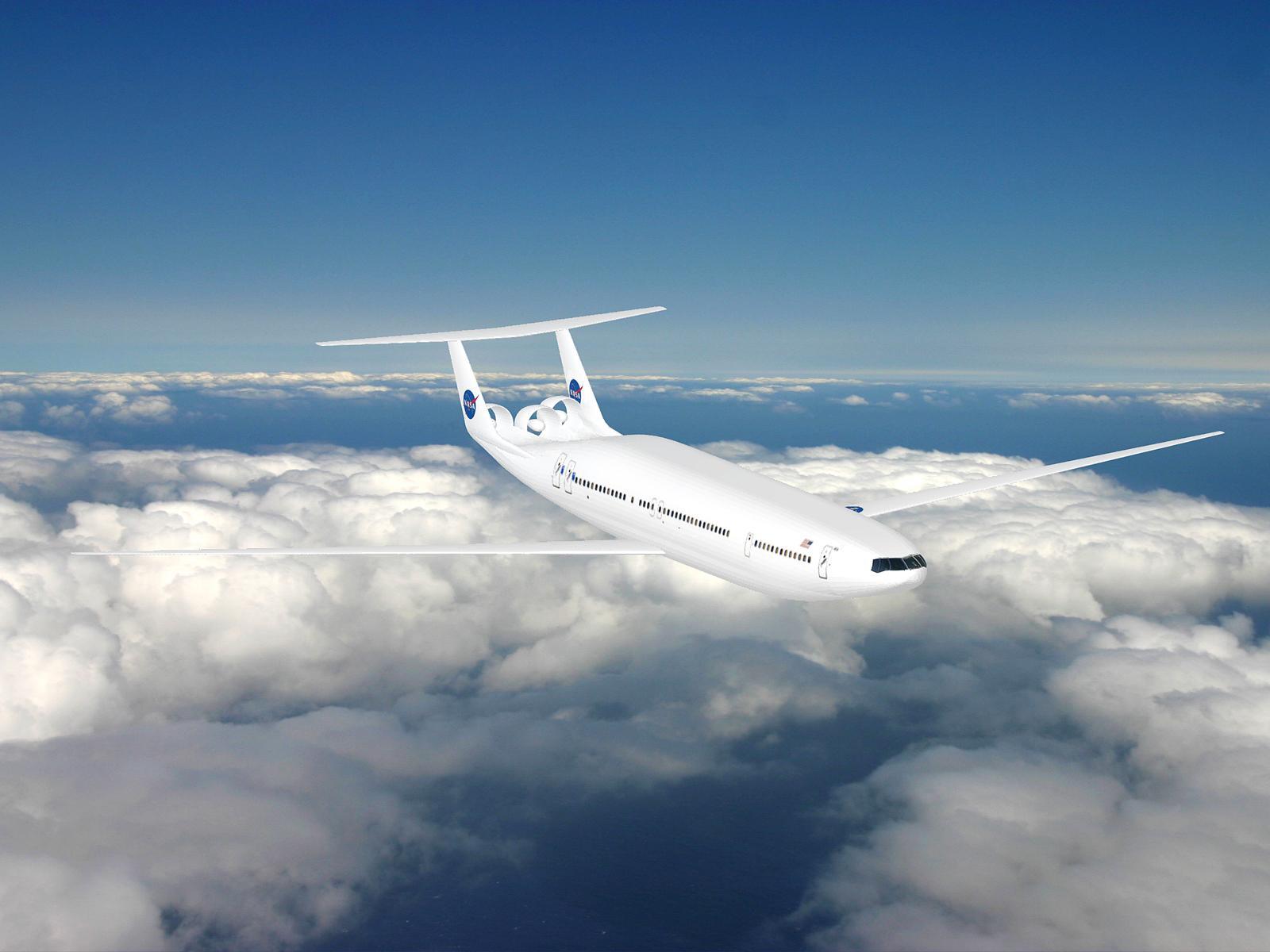 The Double Bubble D8 in Flight