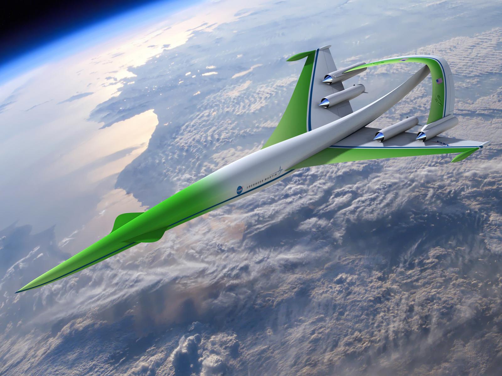 Green Supersonic Machine