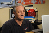 "Astronaut Mike Massimino cameos as himself in a new episode of the CBS sitcom ""The Big Bang Theory."""