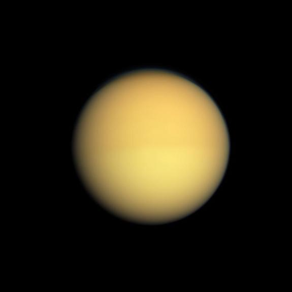 Saturn's moon, Titan, is thought to boast clouds that rain methane down onto its surface, as well as a methane ocean. Astronomers studying the cloud cover over other planets could measure the changes in brightness to determine the layout of land beneath.
