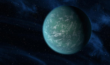 In December 2011, astronomers announced the discovery of Kepler-22b, the first planet in the habitable zone of a sun-like star. Though its gas envelope raises the temperature too high for liquid water on the surface, other rocky planets within similar distances from their star could potentially boast water and clouds.