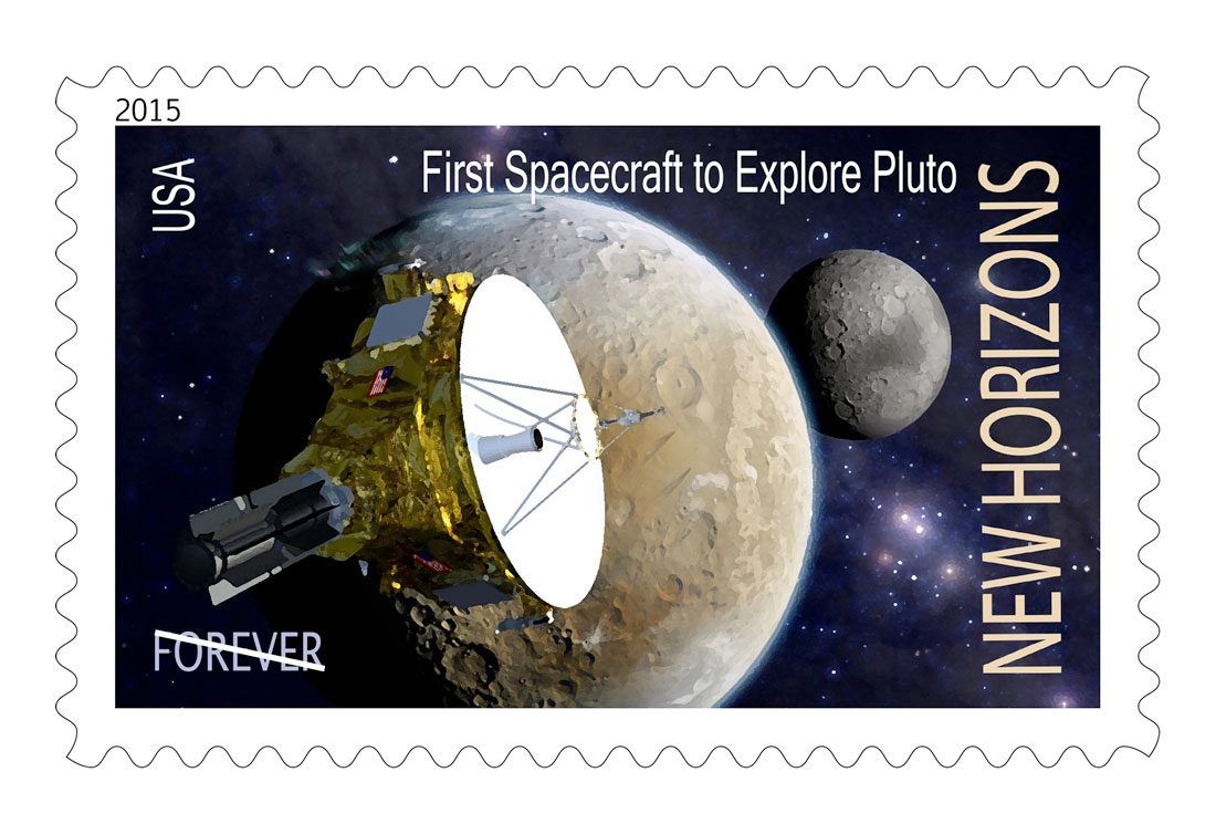 Petitioners Push for Pluto Probe Postage Stamp
