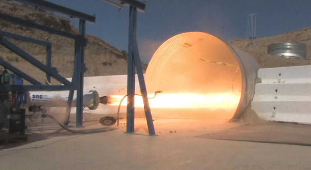 CCDev Milestone 3, Dream Chaser Hybrid Rocket Motor Firing