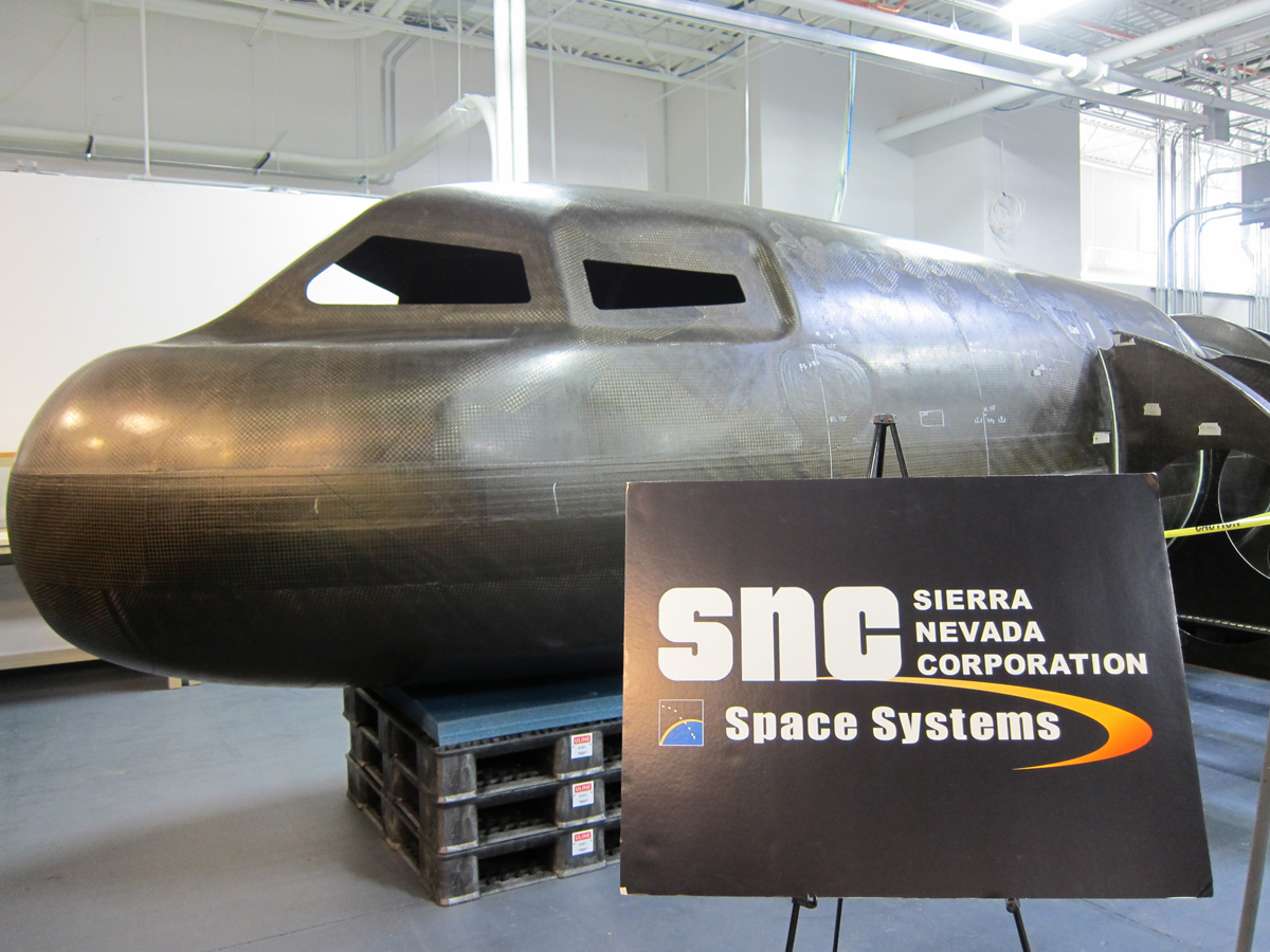 Dream Chaser Fuselage Fabrication