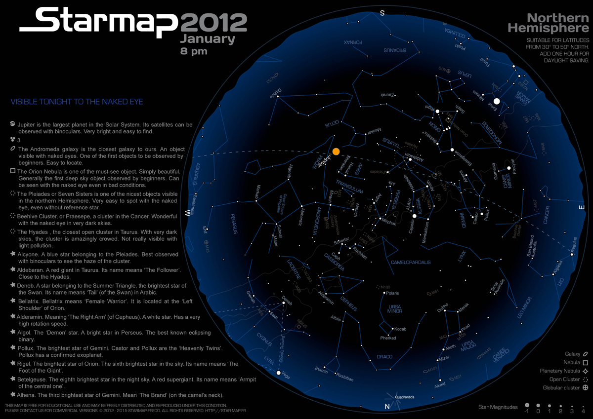 Star Maps From Mobile App Maker Brings Astronomy to the Masses