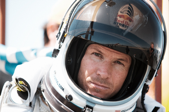 Daredevil skydiver Felix Baumgartner is planning to make a record-breaking supersonic jump from the edge of space.