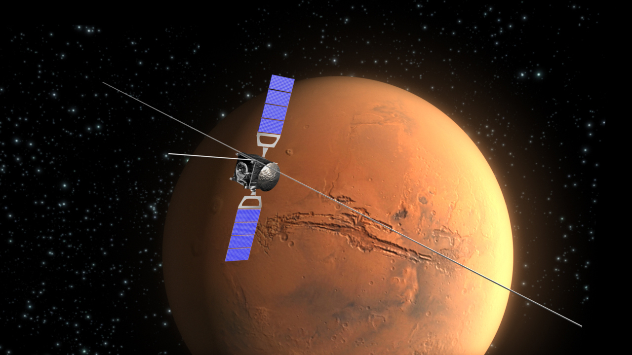 European Space Agency's Mars Express