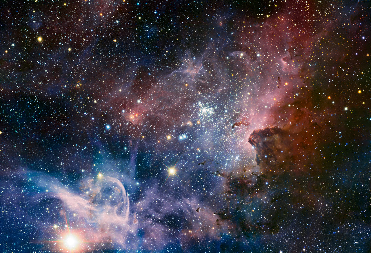 Hidden Secrets of Majestic Nebula Revealed in New Photo