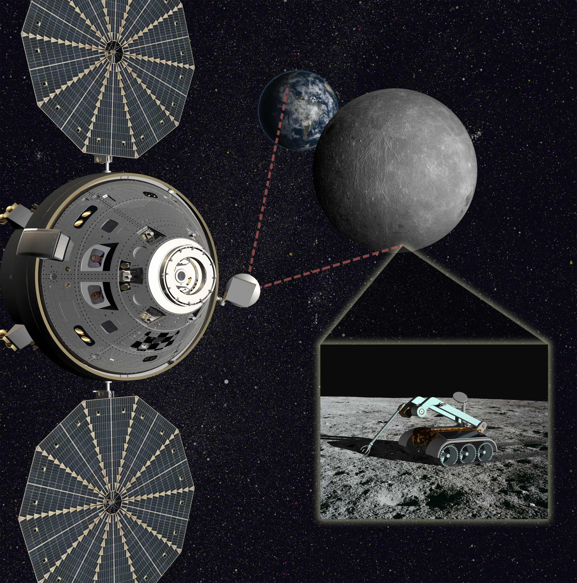 NASA Mulls Deep-Space Station on Moon's Far Side