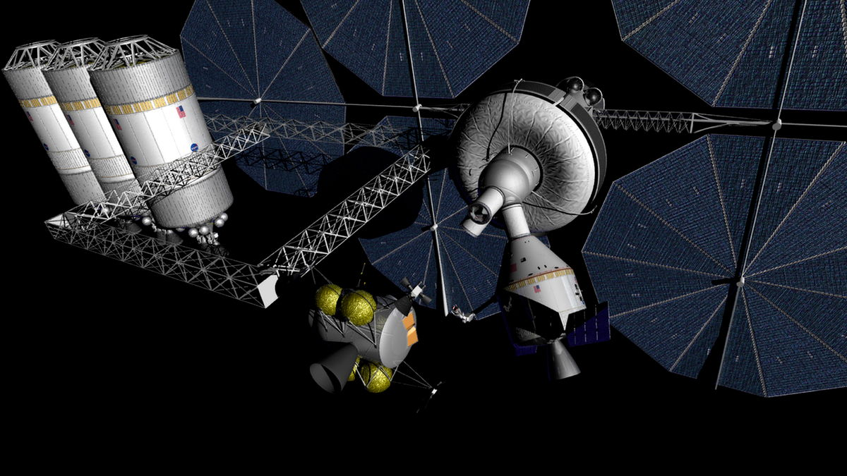 NASA Eyes Plan for Deep-Space Outpost Near the Moon