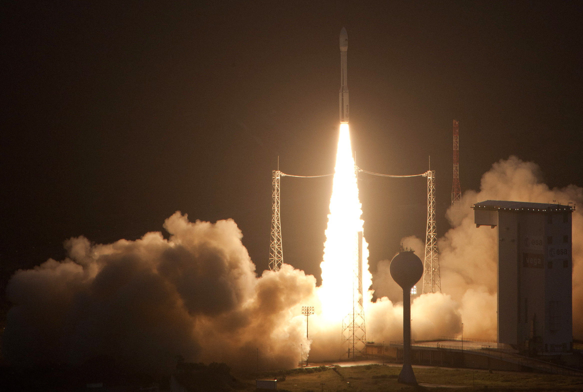 Europe Launches New Vega Rocket on Maiden Voyage Europe Laun