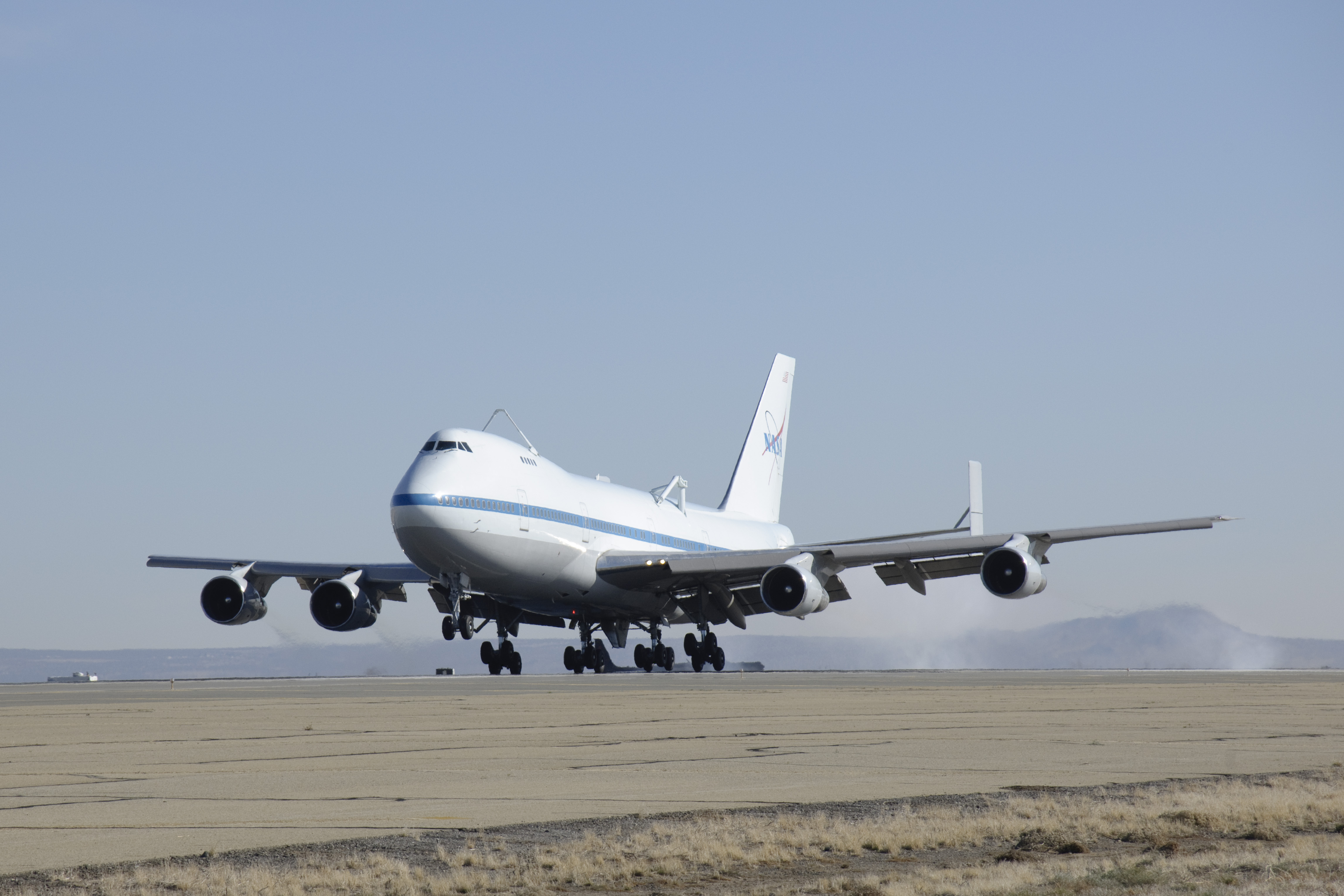 NASA Space Shuttle-Carrying Jumbo Jet Retires After One Last Flight