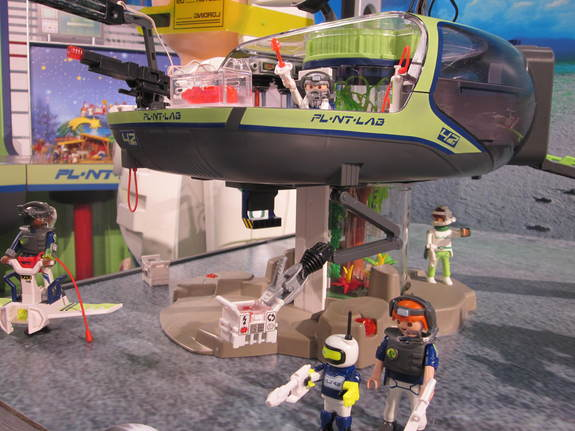 Playmobil's new 'Future Planet' line features astronauts living in a future space colony complete with rovers, habitats and techno-gardens for growing crops.