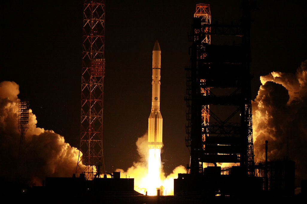 Russian Rocket Launches Long-Delayed Communications Satellite
