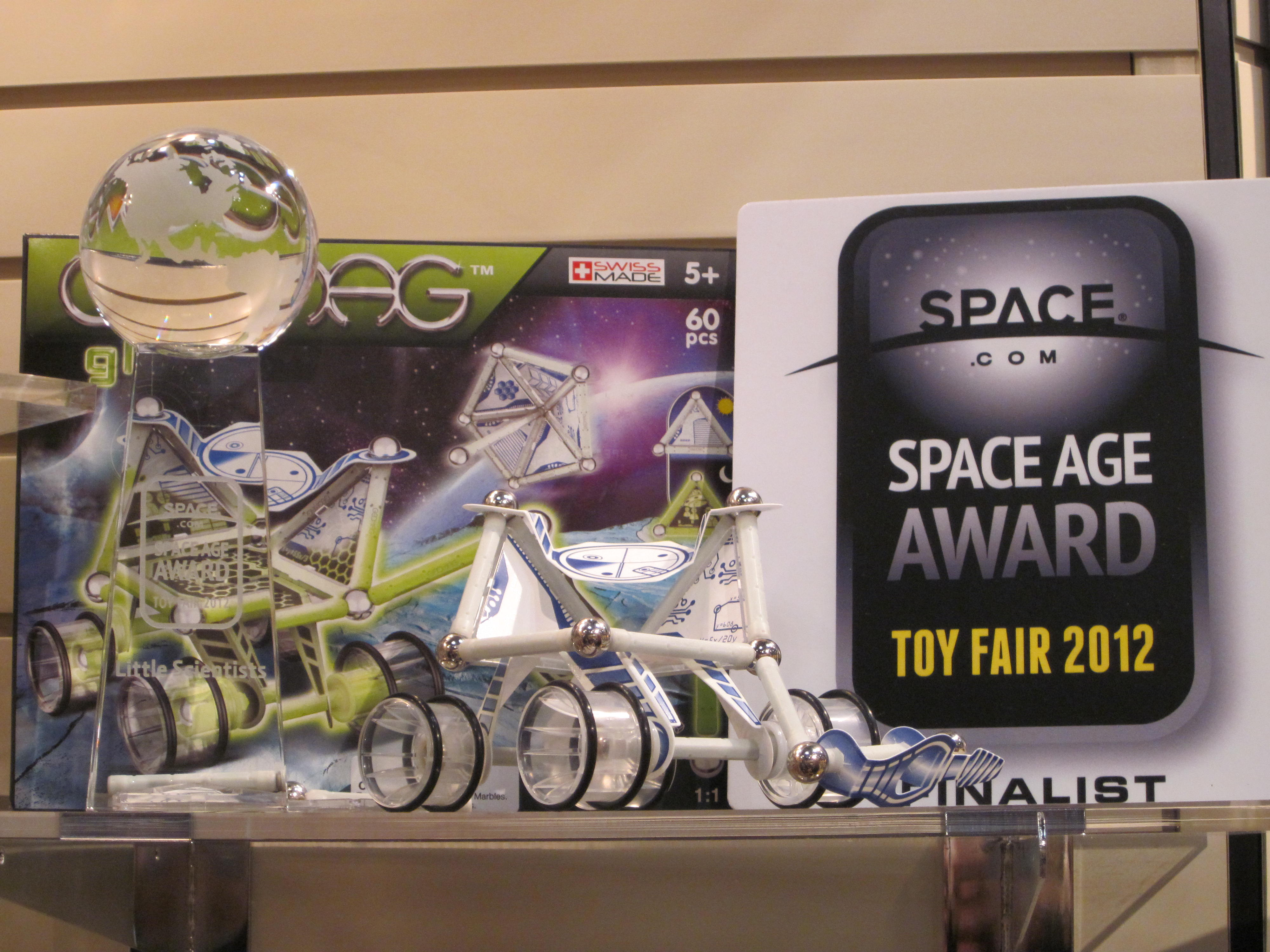 Space Age Toys Land in NYC Sunday