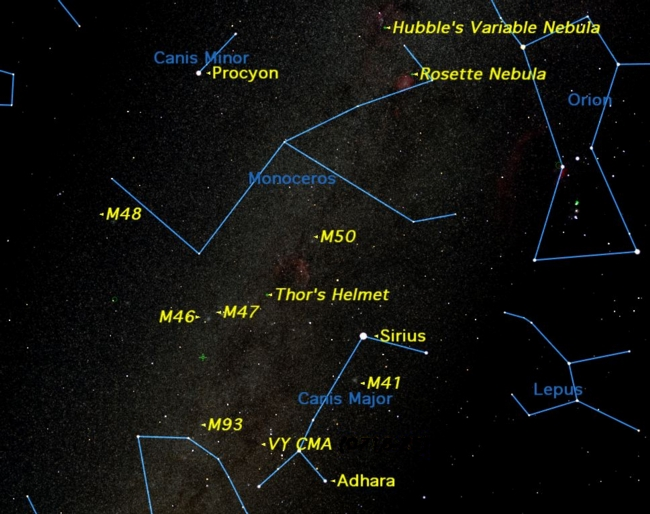 Doggie Constellations Are a Skywatcher's Best Friends This Week