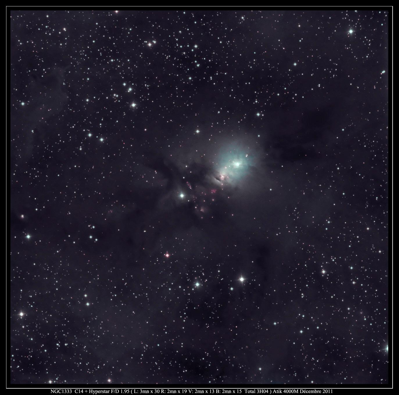 Aqua Burst: Skywatcher Photo Reveals Nebula's Blue Glow