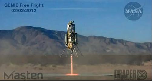 Private Xombie Rocket Aces NASA Landing Test