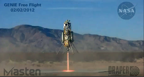 Private Xombie Rocket Aces NASA Landing Test