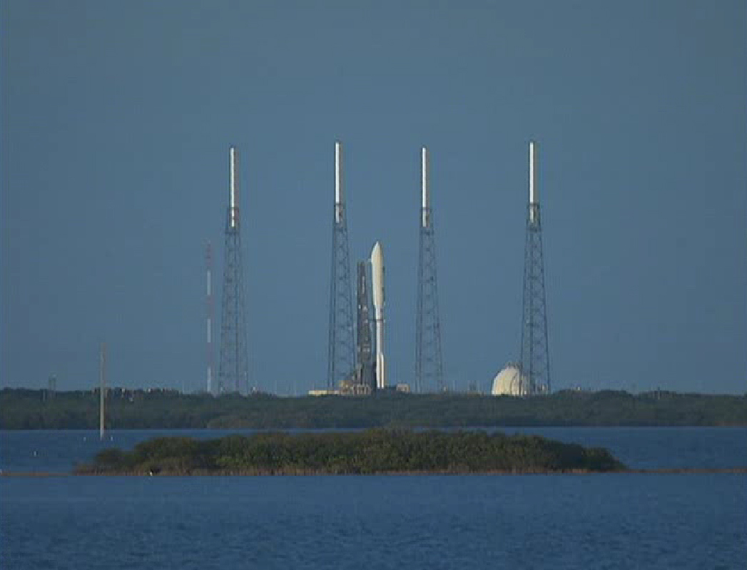 Atlas 5 Rocket Poised to Launch MUOS-1