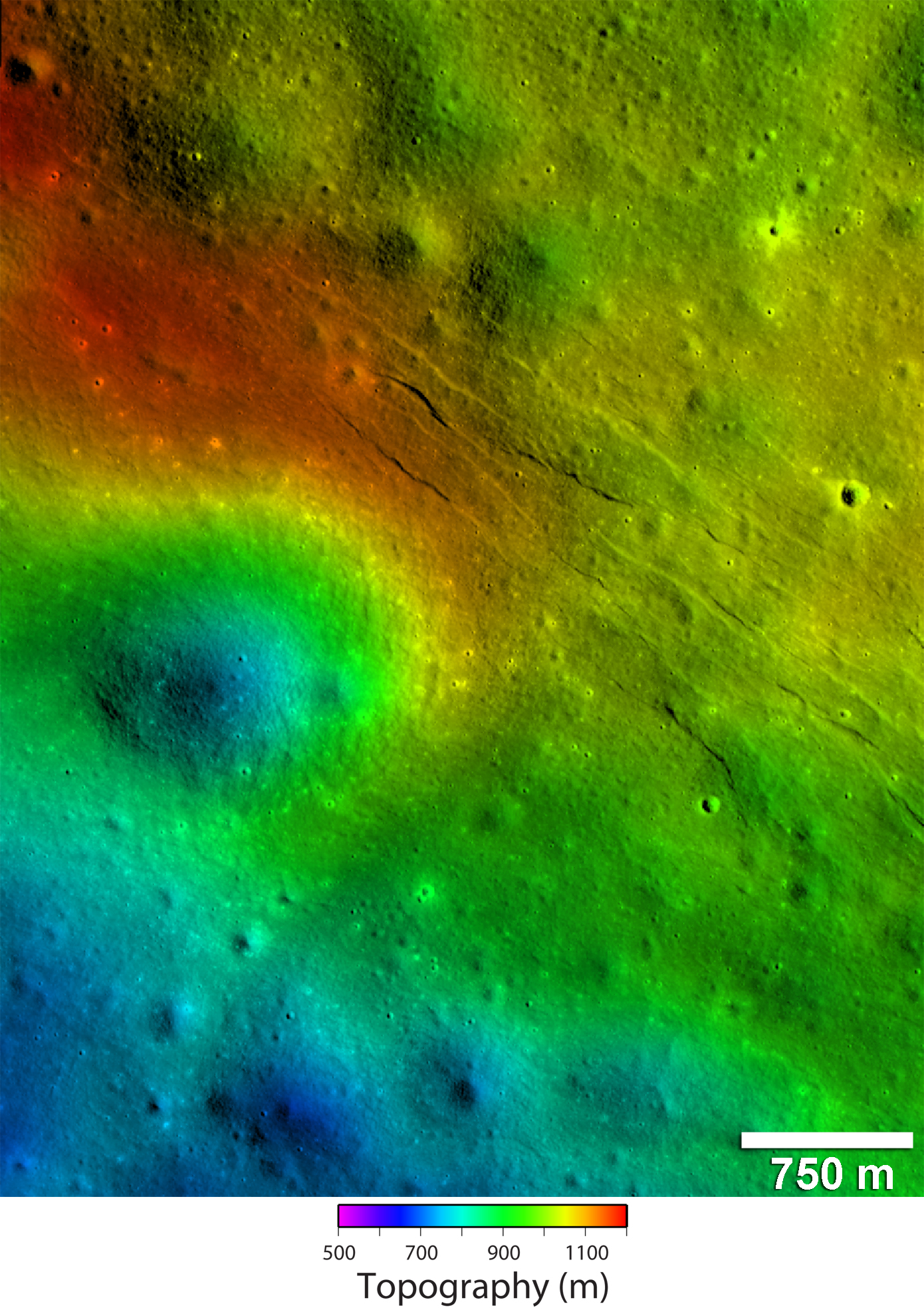 Moon's Scarred Crust Hints at Recent Activity